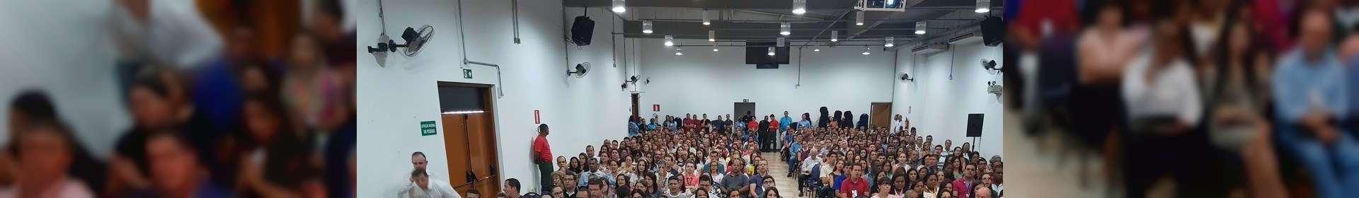 Seminário da Igreja Cristã Maranata em Muriaé, Minas Gerais, reúne cerca de 500 pessoas