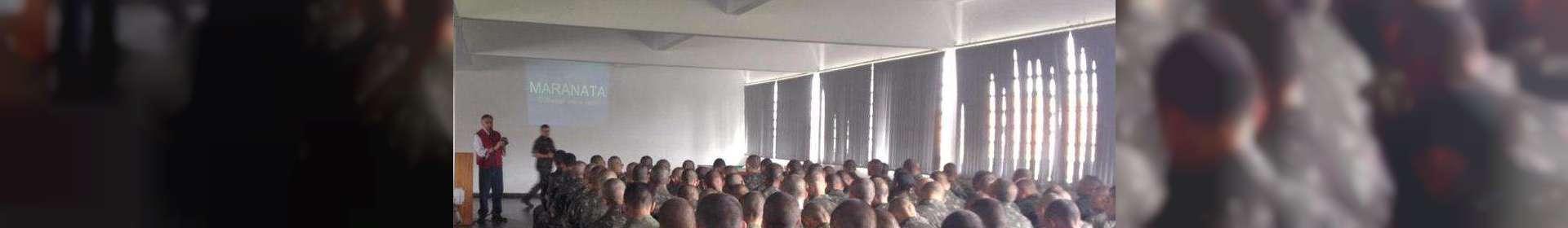 Igreja Cristã Maranata realiza culto no 5º Batalhão Logístico do Exército brasileiro