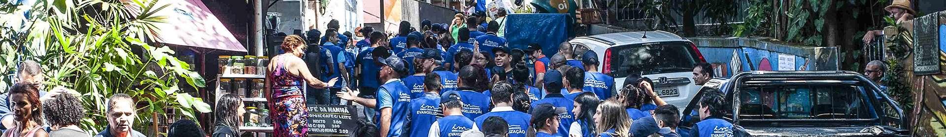 Comunidades da Rocinha e Parque da Cidade, no Rio de Janeiro, vivem experiências de salvação