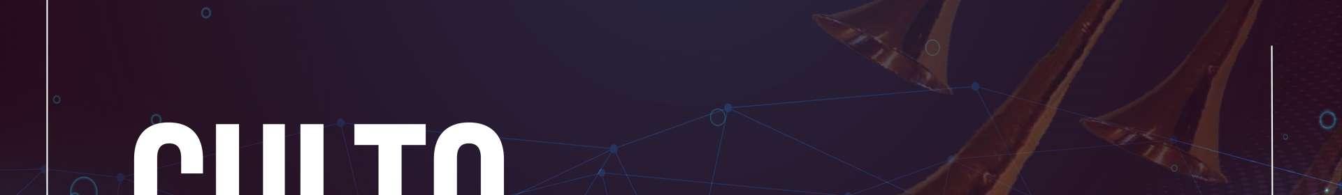 Culto via satélite exibido em 08/10/2019