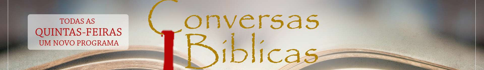 Conversas Bíblicas: Histórico da Doutrina - Parte 2