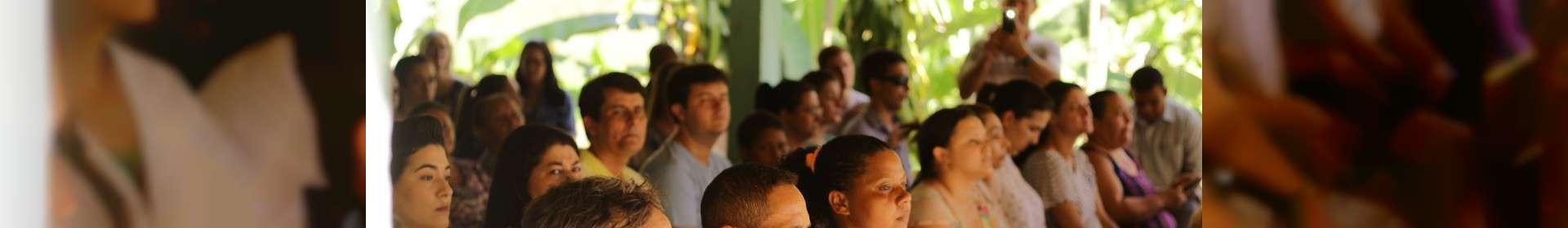 Culto de batismo em Pancas, no Espírito Santo, reúne três igrejas do estado