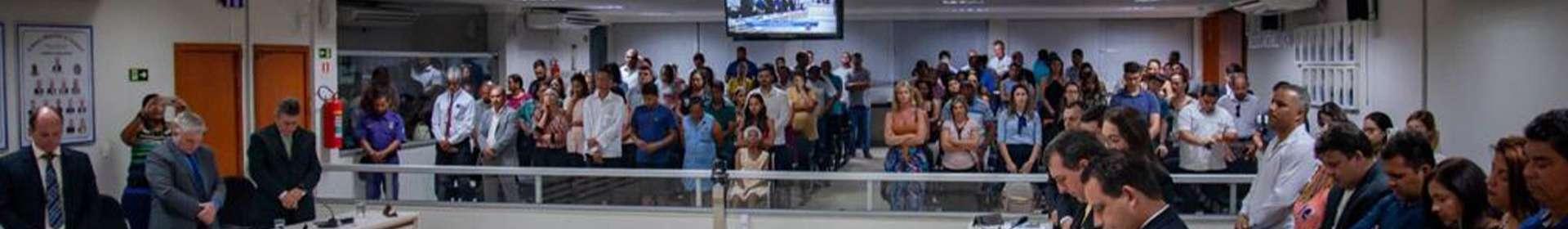 Igreja Cristã Maranata anuncia a volta de Jesus a autoridades do Espírito Santo