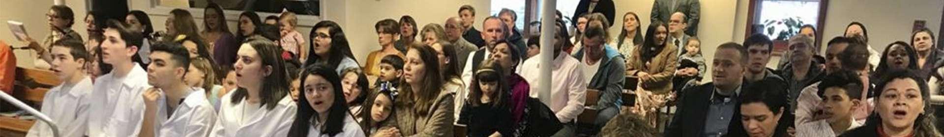 Igrejas Cristã Maranata em Massachusetts iniciam o ano com batismos