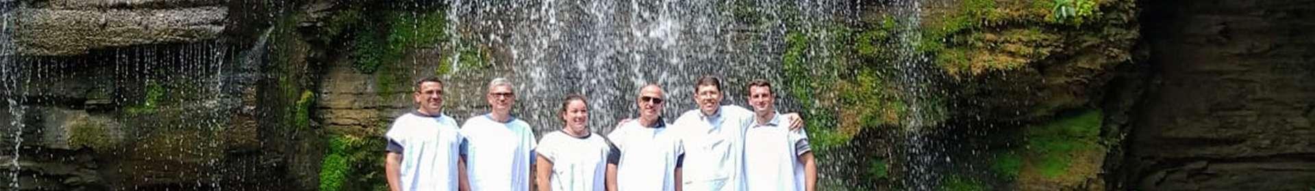 Batismos realizados pela Igreja Cristã Maranata em fevereiro de 2020