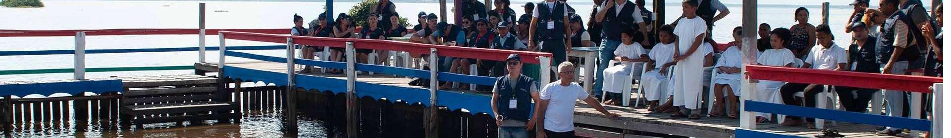 Sétima Missão Amazônia chega a Bagre, PA