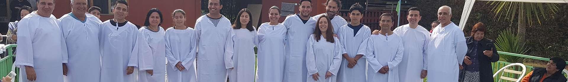 Missão Internacional Cristã Maranata realiza batismo no Chile