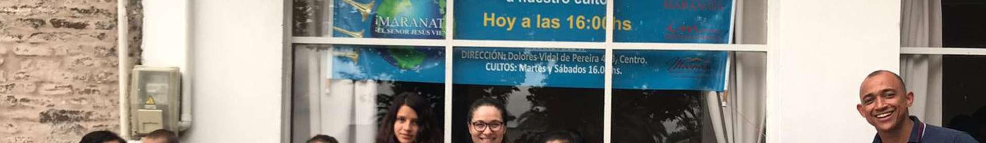 Voluntários da Igreja Cristã Maranata evangelizam no Uruguai
