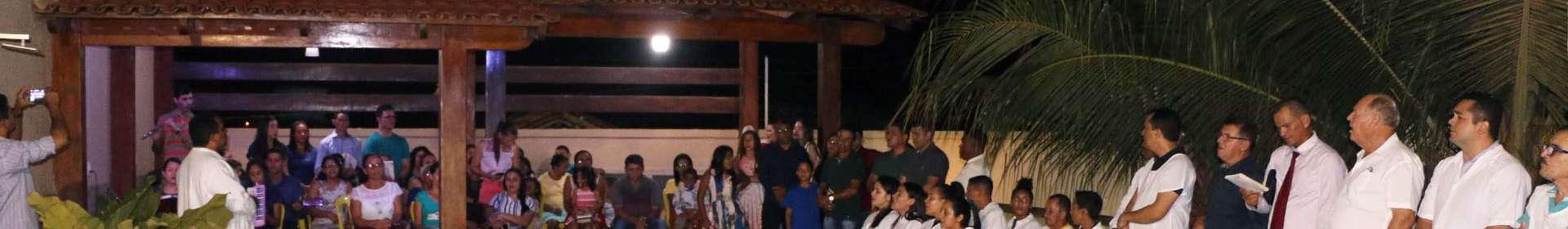 Batismos realizados por Igrejas Cristã Maranata em dezembro de 2019