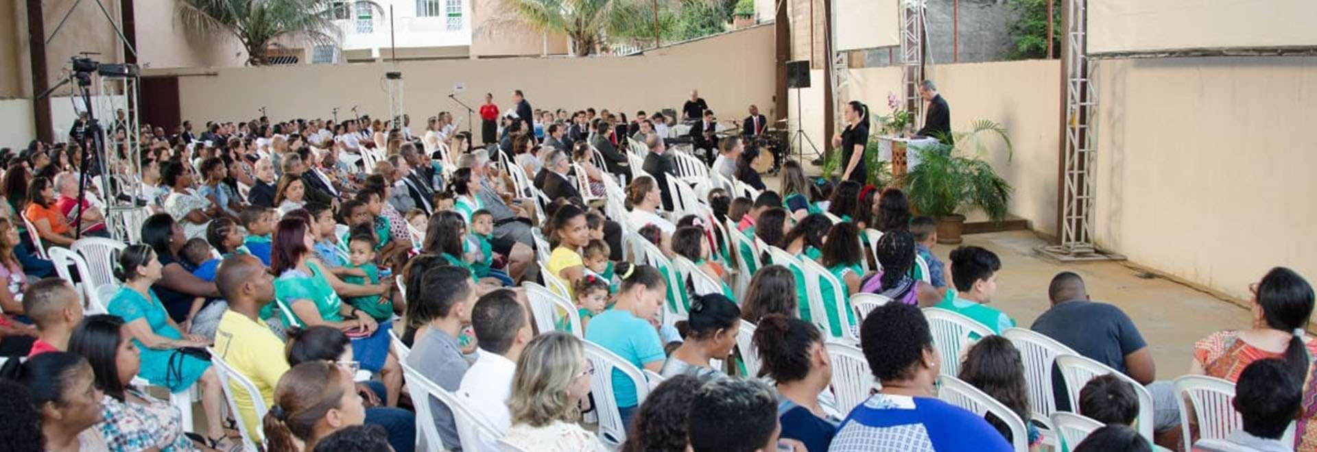 Culto de evangelização em Oratórios, MG,  representa um marco para a Igreja Cristã Maranata na cidade