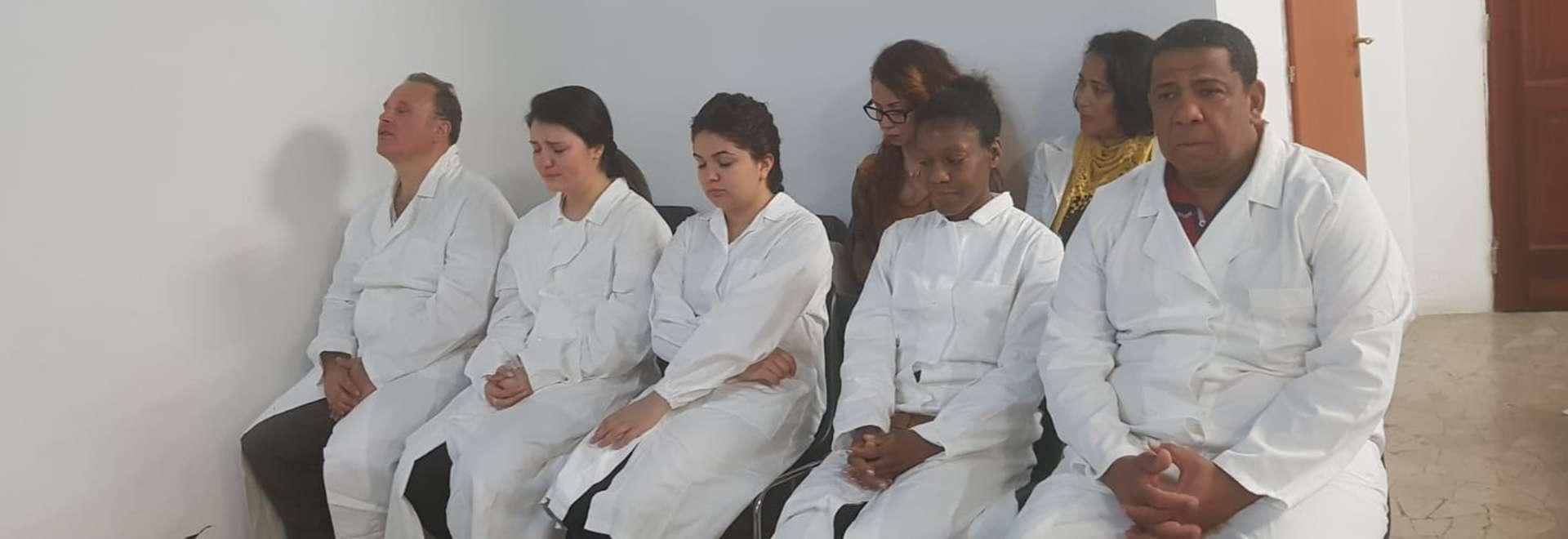 Igreja Cristã Maranata realiza batismo em Roma, Itália