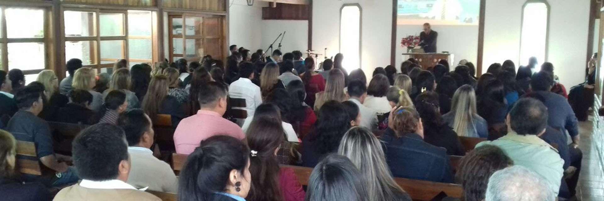 Igrejas Cristã Maranata na Bolívia participam de seminários