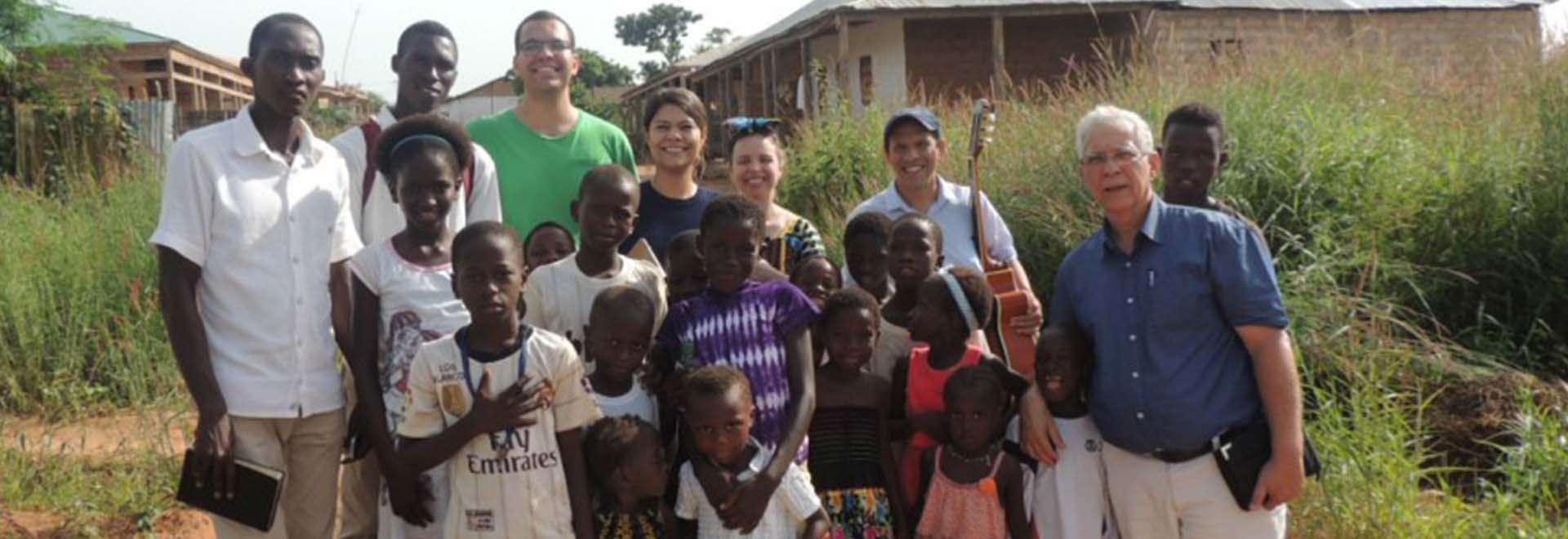Trabalho de Assistência é realizado em Guiné-Bissau, África