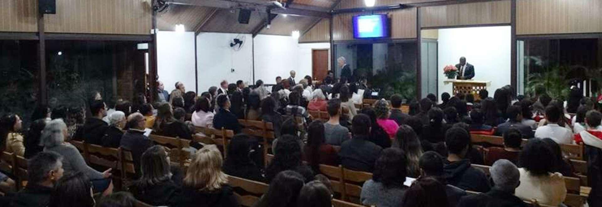 Culto de glorificação pelos 50 anos da Igreja Cristã Maranata é realizado em Ponta Grossa (PR)