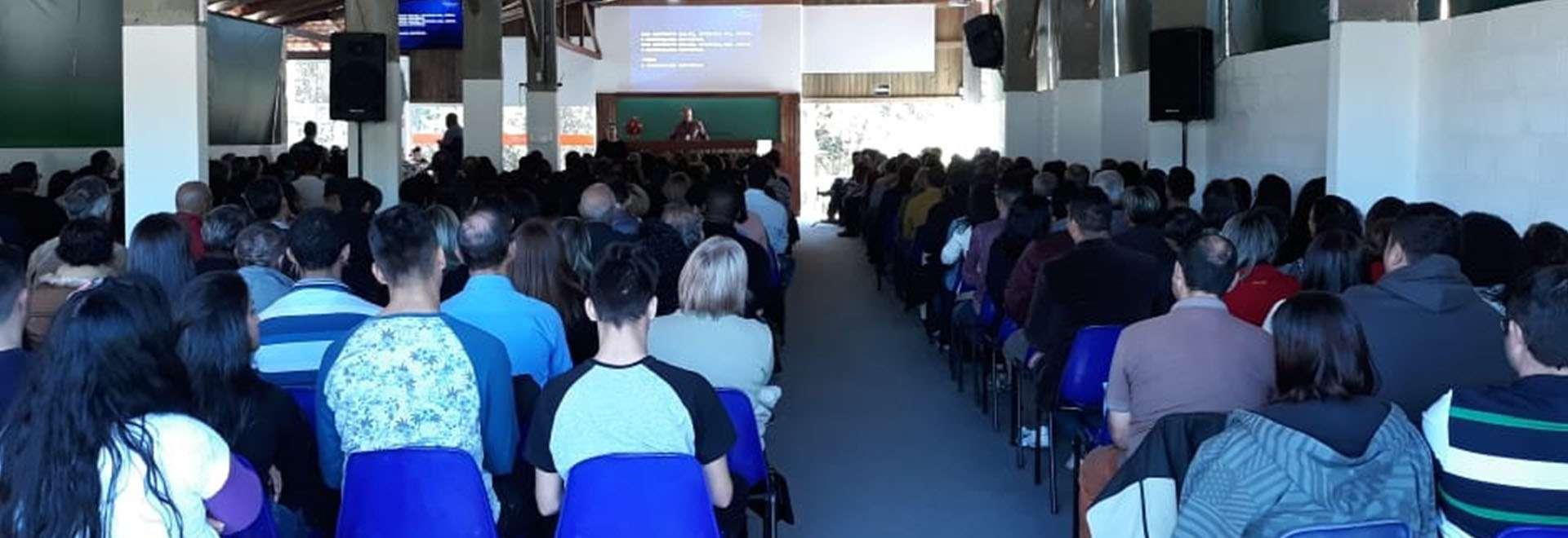 Seminário de principiantes é realizado presencialmente em Florianópolis